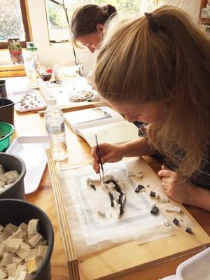 Mosaic workshop at Ashton Park