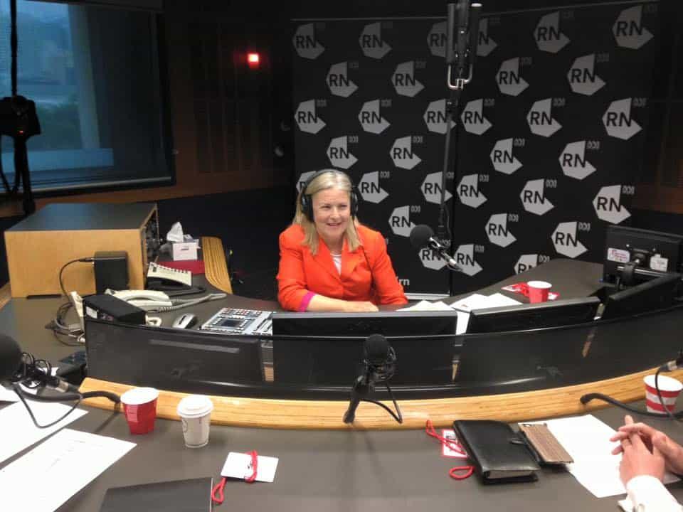 Peta Seaton on Radio National